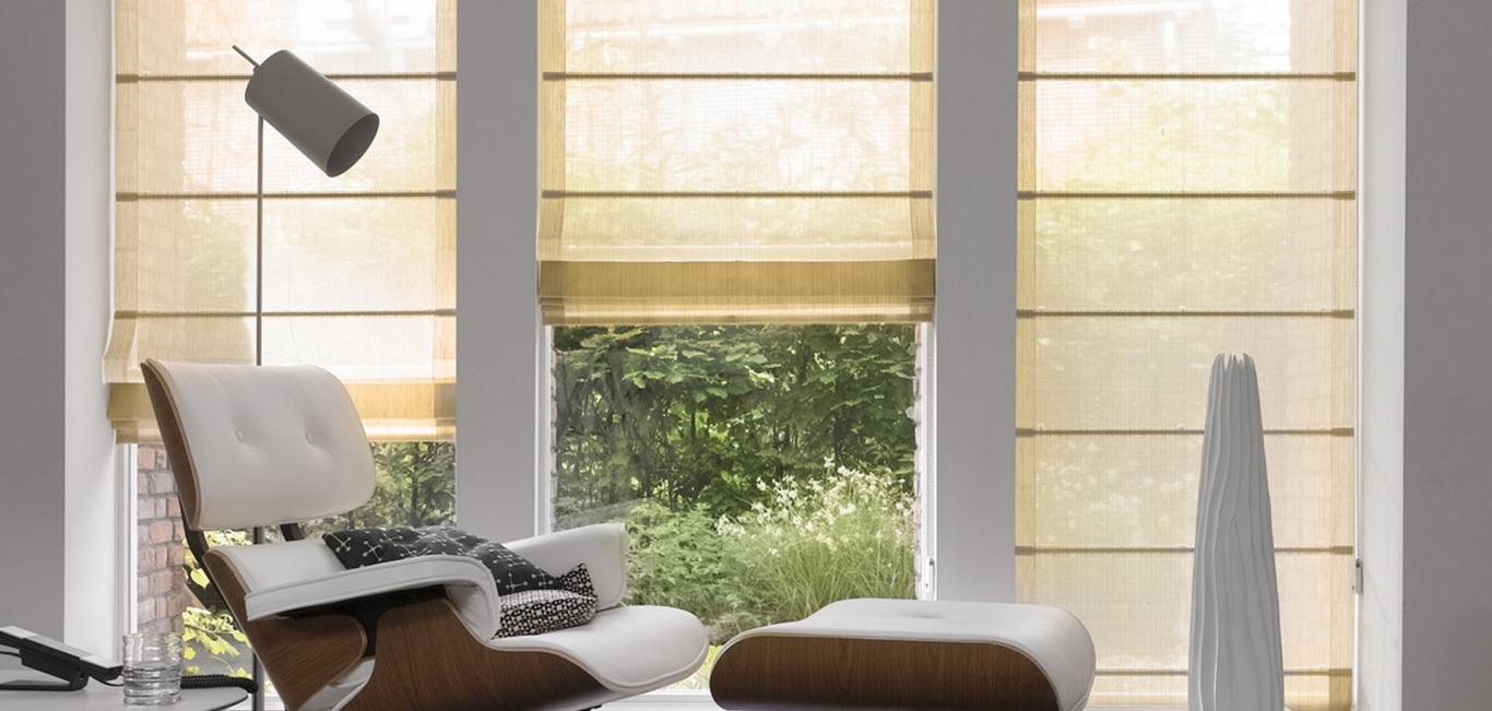 Cortinas Romanas Hunter Douglas