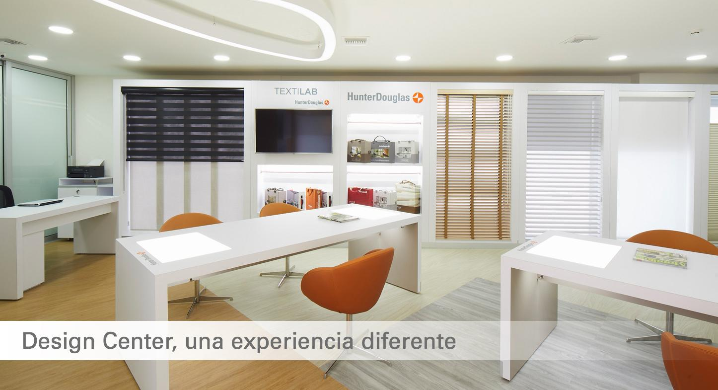 Design Center Hunter Douglas: una experiencia sensorial